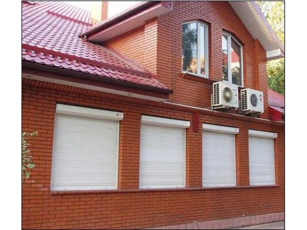 Рольставни металлические алюминиевые на окна