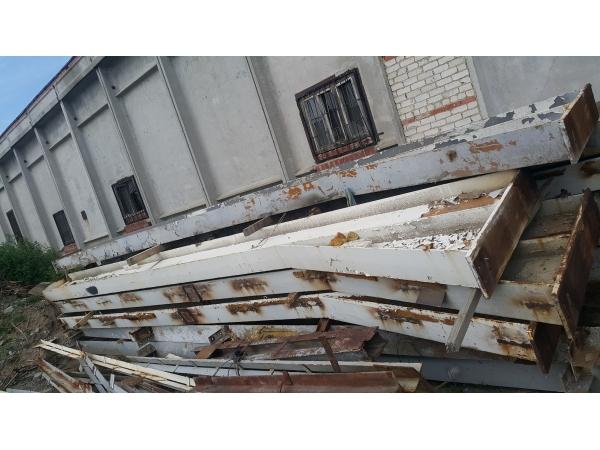 Продаем ангар типа «канск» 18х36, высота колонн 5,7м