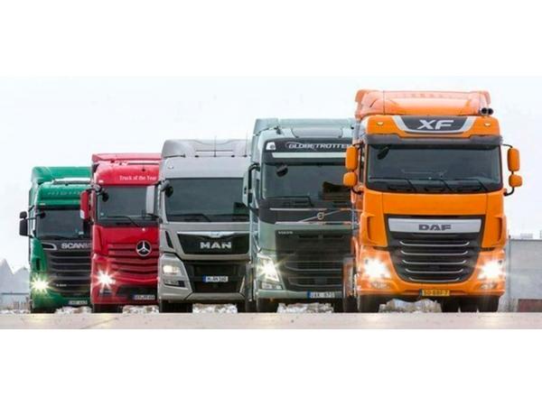 Запчасти б/у для грузовых авто из Европы.