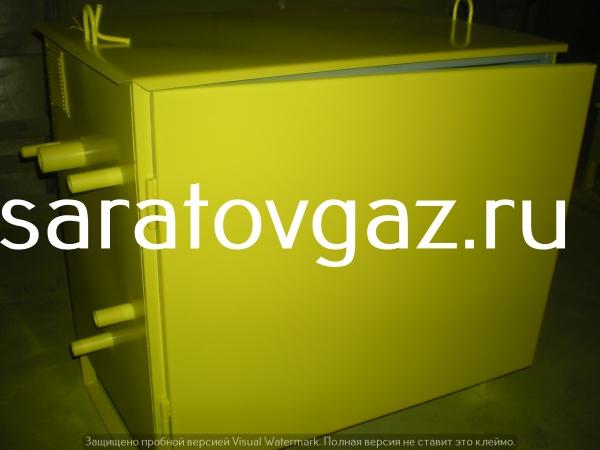 Производство : газорегуляторный пункт шкафной ГРПШ-13-2ВУ1 . Срок изго