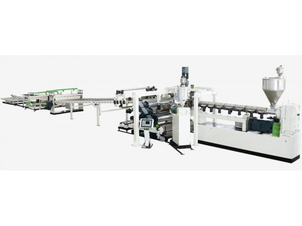 Экструзионная линия для производства листа и панелей из поликарбоната