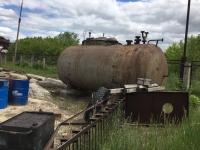 Резервуар Горизонтальный Стальной для хранения ГСМ