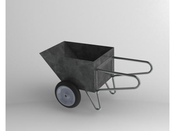 Тележка-рикша из нержавеющей стали