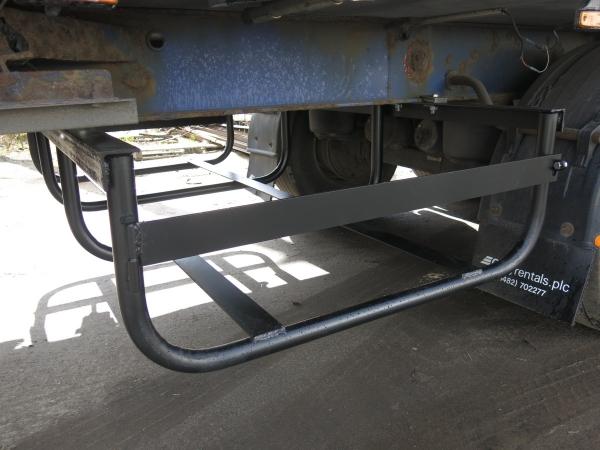 Установка кронштейнов запасных колёс