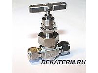 Вентиль игольчатый проходной GB2-H-12M-S316