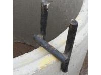 Скобы направляющие ГС-1 канализационных колодцев ПП16-8
