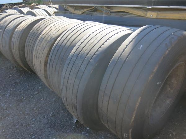 Колёсо грузовое в сборе с диском 385/65R22,5 вторая категория, 2007