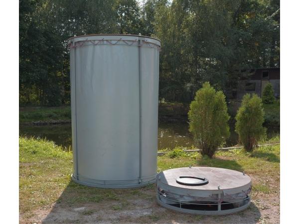 Резервуар разборный, вертикальный в защитном пенале (РРВ-3,1)