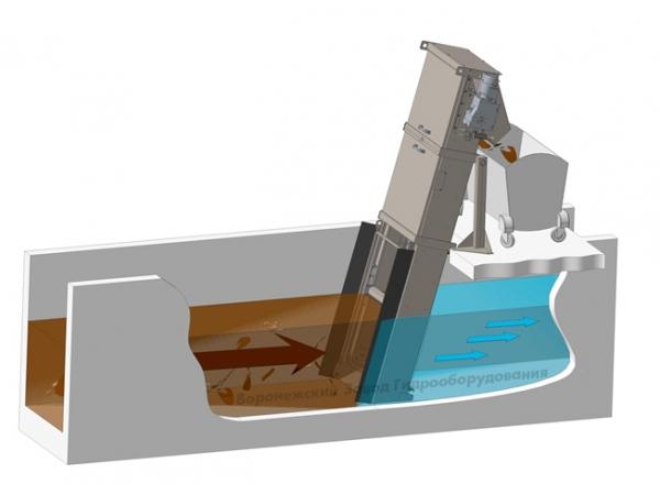 Решетка грабельная  РГМ