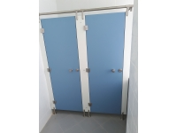 Туалетные сантехнические перегородки HPL пластик фурнитура нержавеющая