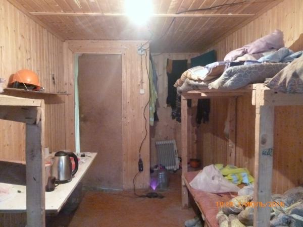 Утеплённые строительные бытовки с двухъярусными кроватями