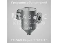 Грязевик ТС-569.00.000-11 абонентский Ду 80 Ру 1,6