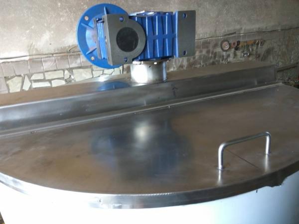 Котёл варочный из нержавеющей стали на 1000л с мешалкой на ТЭНах