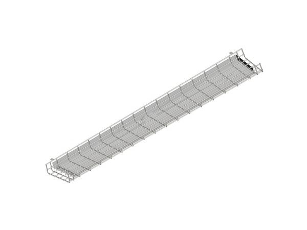 Школьный светодиодный светильник FAROS FG 180 8*18LED 0,32А  36W grid