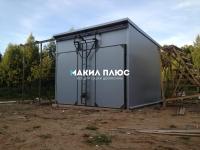 Лесосушильная камера для досок 70 куб.м (вода)