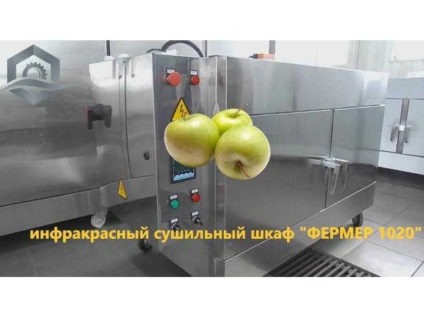 Инфракрасный шкаф Фермер-1020 для быстрой сушки любых продуктов