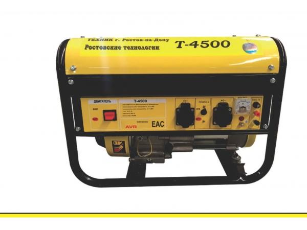 Генератор Техник-4500 3,5кВт