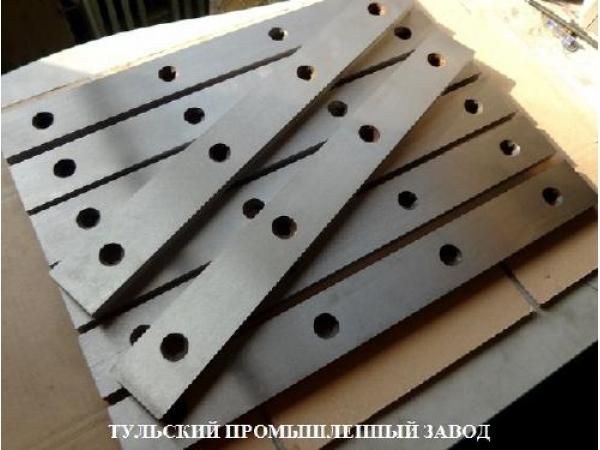 Ножи для гильотинных ножниц в наличии  520х75х25мм купить новые ножи