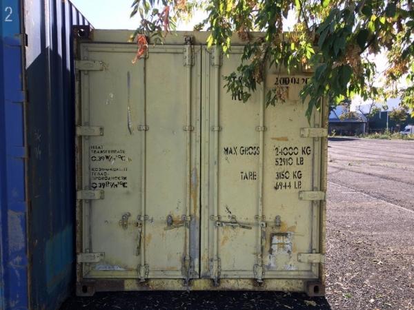Продается контейнер 20 футов изотермический б/у