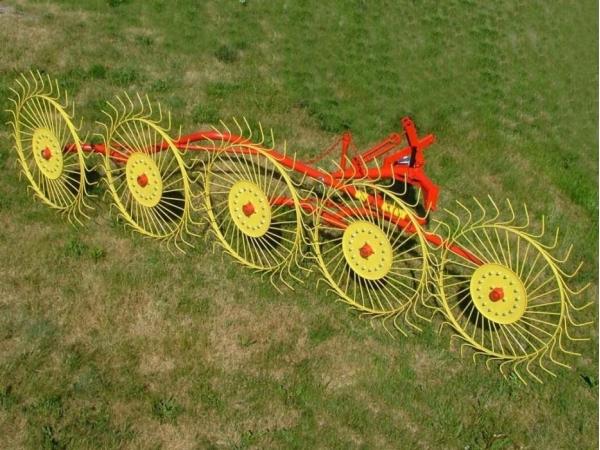 Грабли-ворошилки-колесно-пальцевые