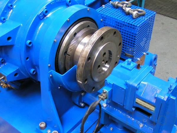 Test bench gas turbine engine Rolls-Royce