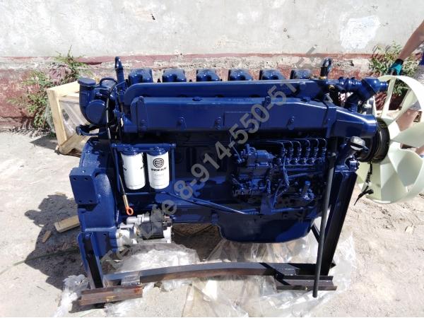 Двигатель Weichai WP10.340E32 Евро-2 для Shaanxi, Shacman F2000/F3000