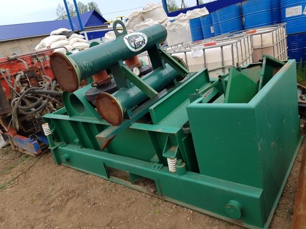 Вибросито первой и второй ступени очистки с песко-отделителем ( фирмы