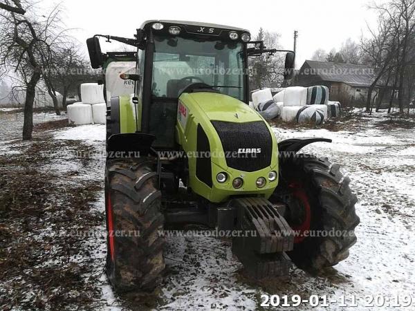 Трактор CLAAS 340, 2009 г, 4740 м/ч, из Европы