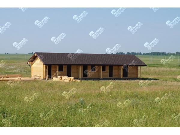 Производим и строим деревянные гостиницы и базы отдыха