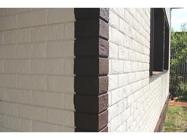 Фасадные, цокольные панели. Плитка HAUBERK.