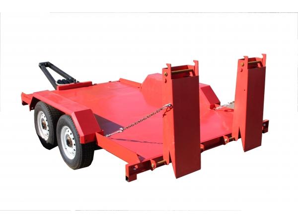 Прицеп для мини погрузчика ANT АНТ 1000 до 4 тонн