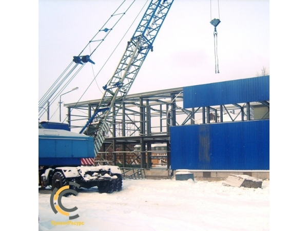 Здания из металлоконструкций от 70т.р/тонна