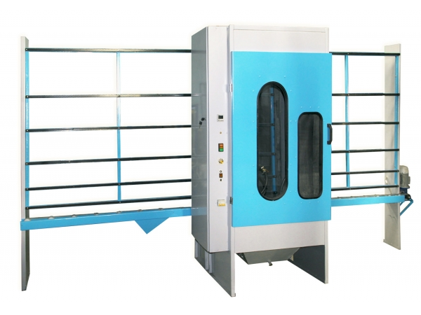 Автоматический станок для пескоструйной обработки стекла