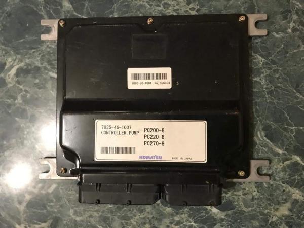 Блок управления двигателем для Komatsu PC200-270, 7835-46-1007.