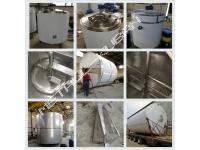 Емкость для переработки молока на 6300л с рубашкой нагрева/охлаждения