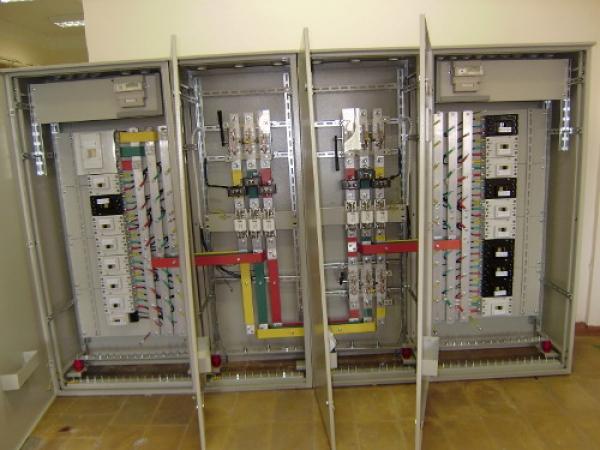 Производство электрощитового оборудования.