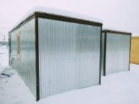 Блок контейнер (бытовка для строителей) Зимняя