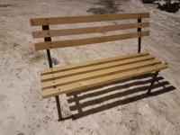 Скамейка парковая, разборная