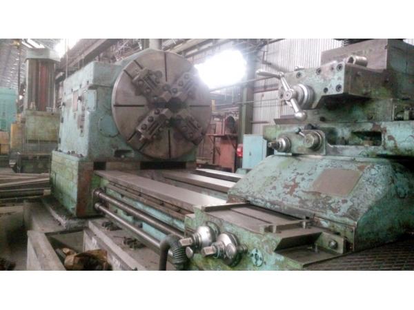 Продам токарный станок после модернизации 1А665 рмц 8000