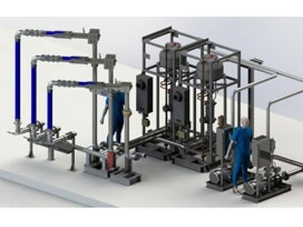 Устройство нижнего налива АСН 8НГ (Модуль Ду100 2/2)