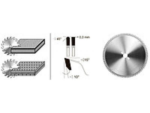 Производим дисковые пилы для раскроя МДФ и других плитных материалов