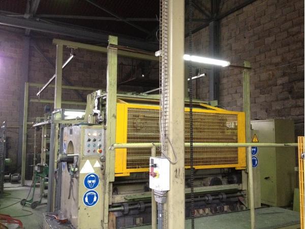 Линия для сварки металлической сетки EVG модель KFR 804