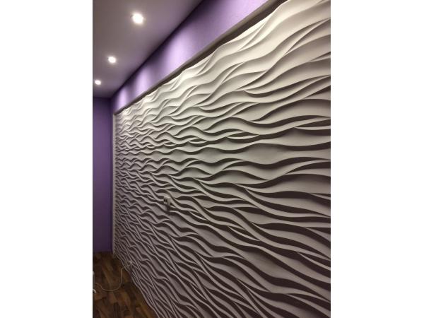 Гипсовые 3D панели Аравийская волна