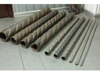Изготовление «витой трубы», с гранями крученой формы