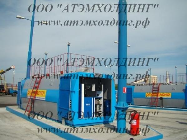 Мобильный топливный модуль, контейнер хранения топлива