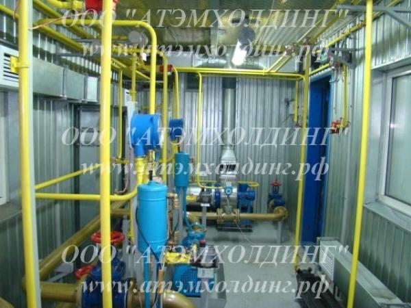 мобильная/контейнерная нефтеперекачивающая станция, контейнерная азс