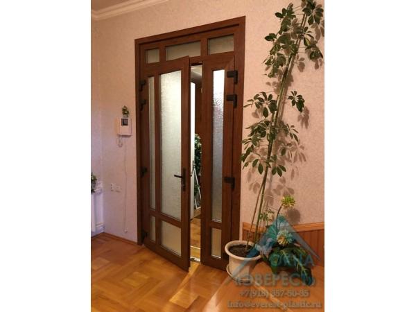 Межкомнатная (офисная) пластиковая дверь