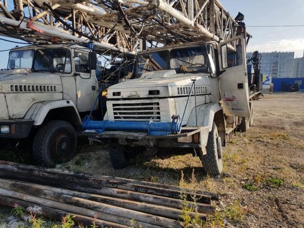 Установка УПА 60/80 на шасси КрАЗ 63221