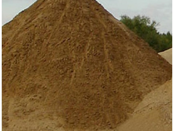 Песок строительный, мытый