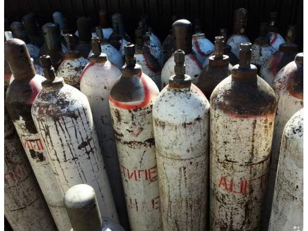 Баллоны ацетилен 40 л. и другие газы